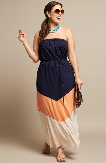 Maxi Dress (Plus Size) | Nordstrom Me encantan los trajes asi