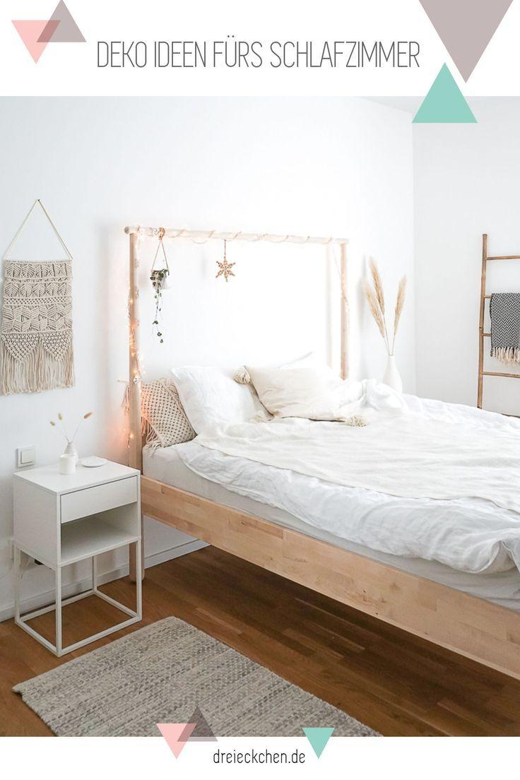 Schlafzimmer Einrichten Naturliche Deko Ideen Mit Getrockneten