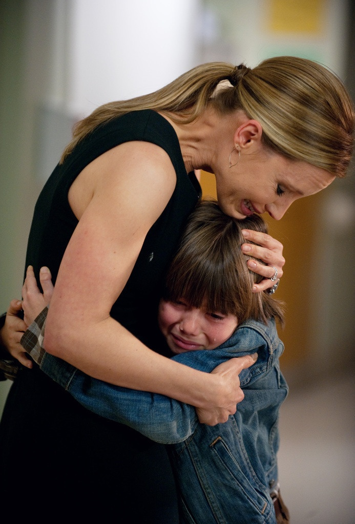 Kadee Strickland (Charlotte) and Griffin Gluck (Mason) on Private Practice