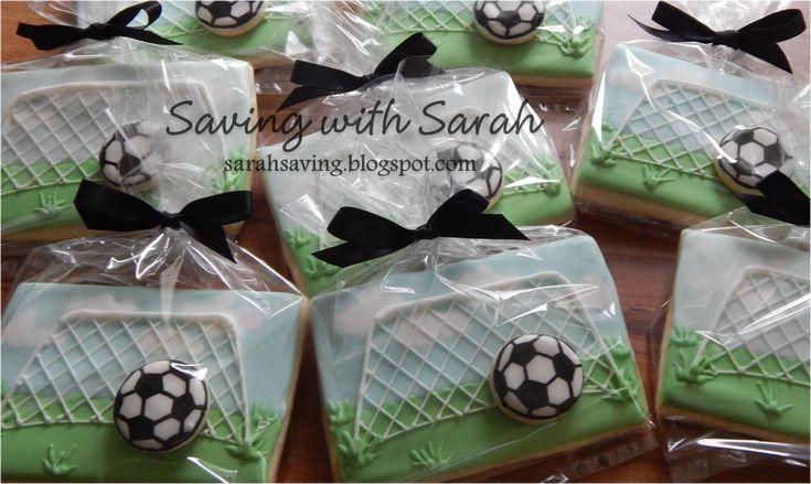 Soccer Cookies #soccer #soccercookies decorated cookies #soccerparty #football sugar cookies