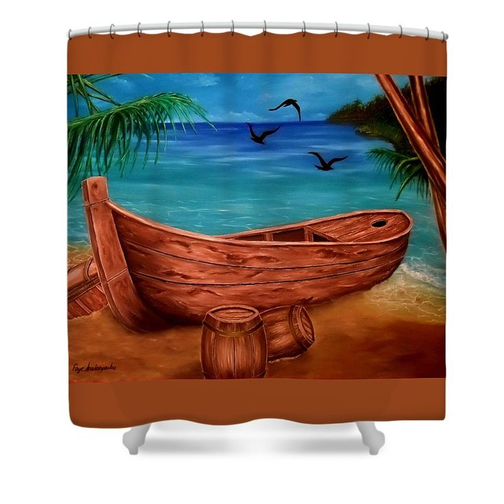 Shower Curtain,  bathroom,accessories,unique,fancy,cool,trendy,artistic,awesome,beautiful,modern,home,decor,design,for,sale,unusual,items,products,ideas,brown,blue,nautical,piratic,boat,coastal,tropical,marine