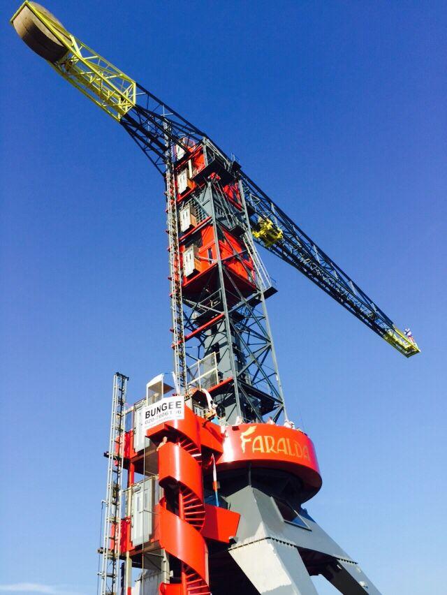 Faralda crane hotel Amsterdam NDSM