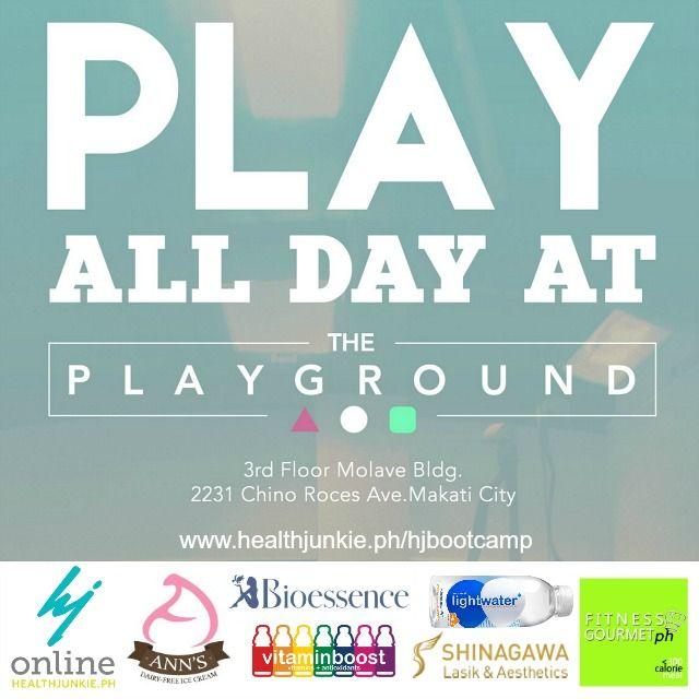 Health Junkie Bootcamp at The Playground | Health Junkie