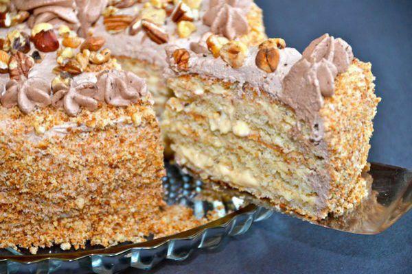 Торт Белочка | Моя любимая выпечка