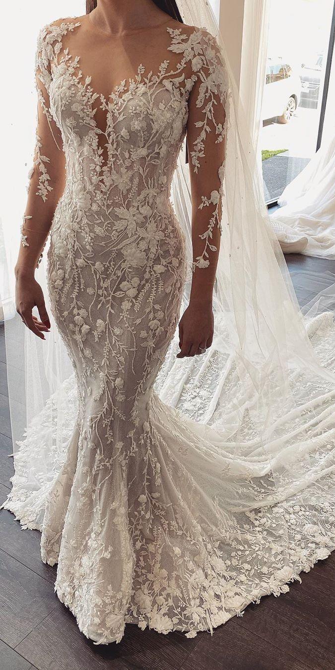 Top 100 Wedding Dresses From Etsy Long Sleeve Mermaid Wedding Dress Lace Mermaid Wedding Dress Mermaid Wedding Dress [ 1350 x 675 Pixel ]