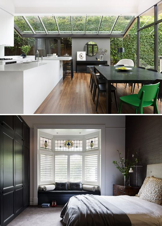 PLE Residence, Hawthorn – designed by Mim Design, photo - Shannon McGrath via thedesignfiles.net #lifeinstyle #greenwithenvy