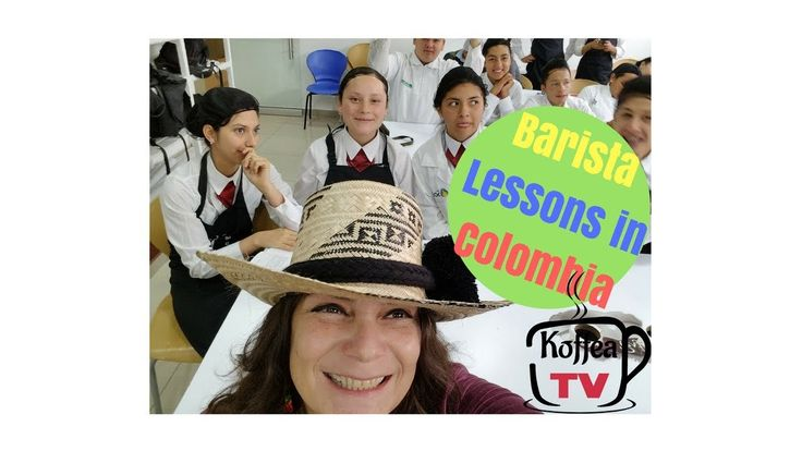 Barista Classes at SENA in Bogota, Colombia, South America