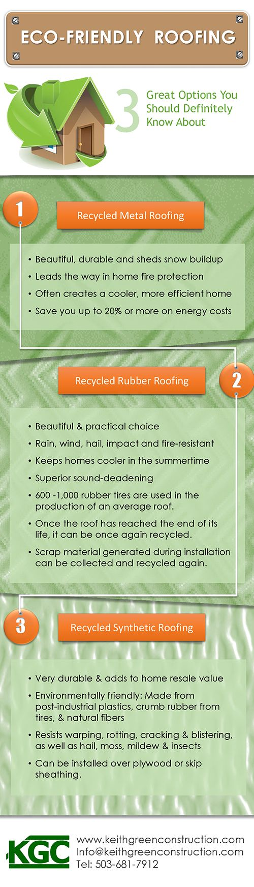 Find Out More About Three Great Eco Friendly Portland Roofing Options:  Recycled Metal Roofing