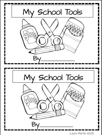 """Classroom Freebies Too: Have kids write down """"rules"""" for using each tool, when teaching routines"""