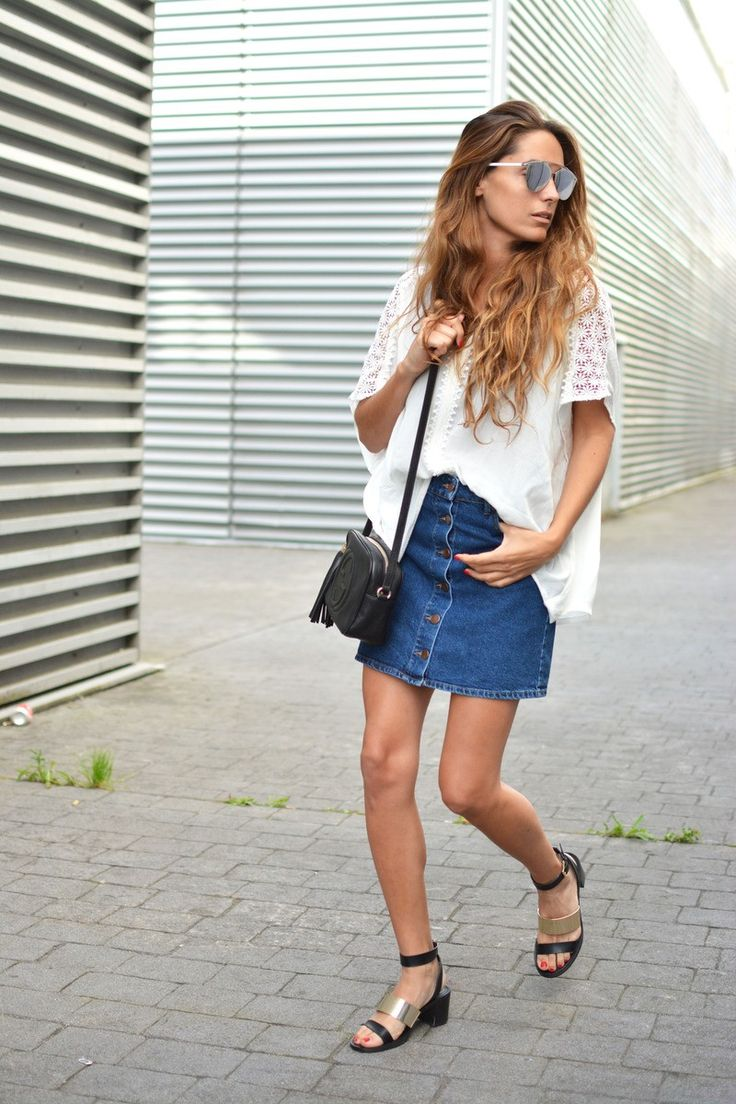 Stella+Wants+To+Die+is+showing+off+the+button+front+skirt+Skirt:+Bershka+