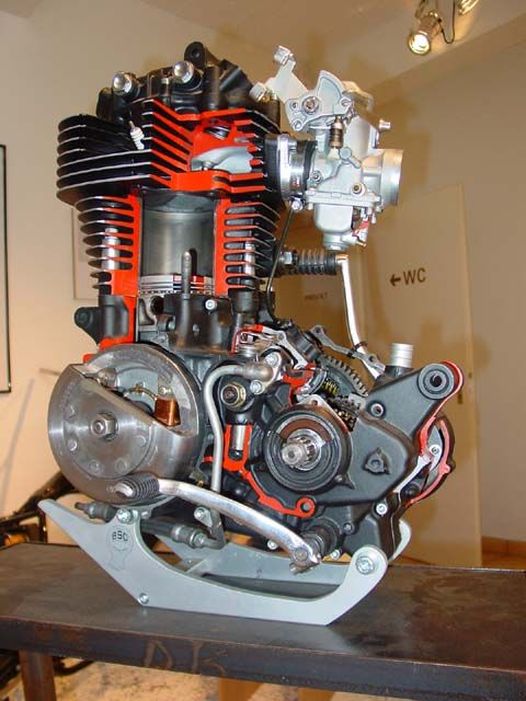 XT/SR500 Engine. Love it...