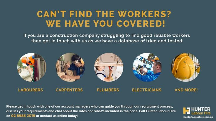 Hot Labour Hire Jobs in Sydney This Month! | Hunter Labour Hire