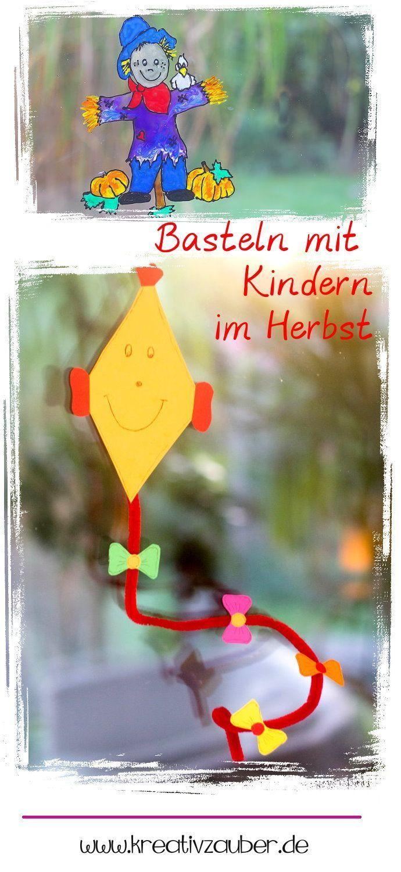 Einfaches hausfarbendesign draußen basteln mit kindern herbst  creative kids  pinterest  creative
