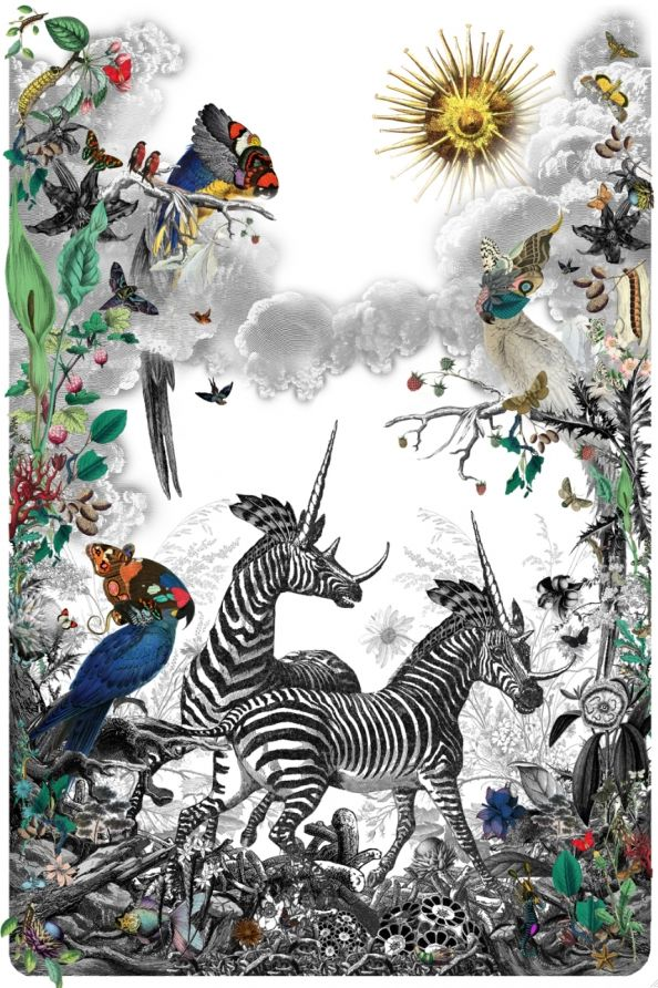Love this artwork, made for the Wilderness Festival
