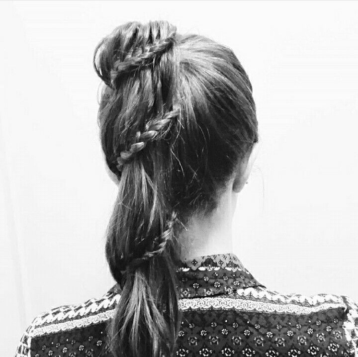 #ponytail #lacebraid #braid #hairstyle