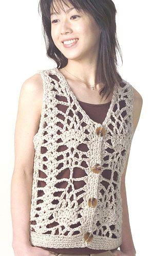 SANDRA CROCHE: Blusa Croche