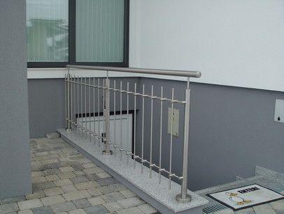 die besten 25 edelstahlgel nder balkon ideen auf pinterest glasgel nder balkon. Black Bedroom Furniture Sets. Home Design Ideas