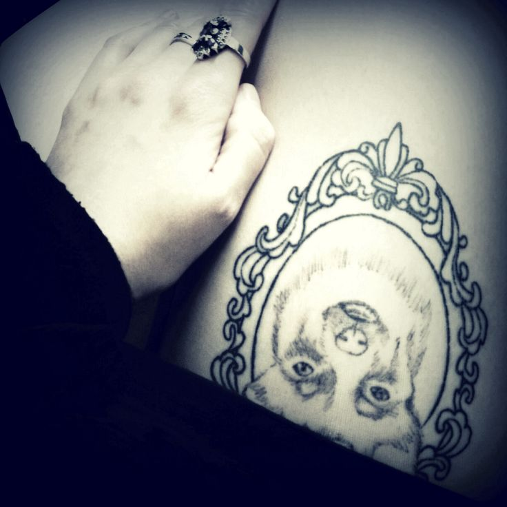 baroque frame tattoo - photo #19