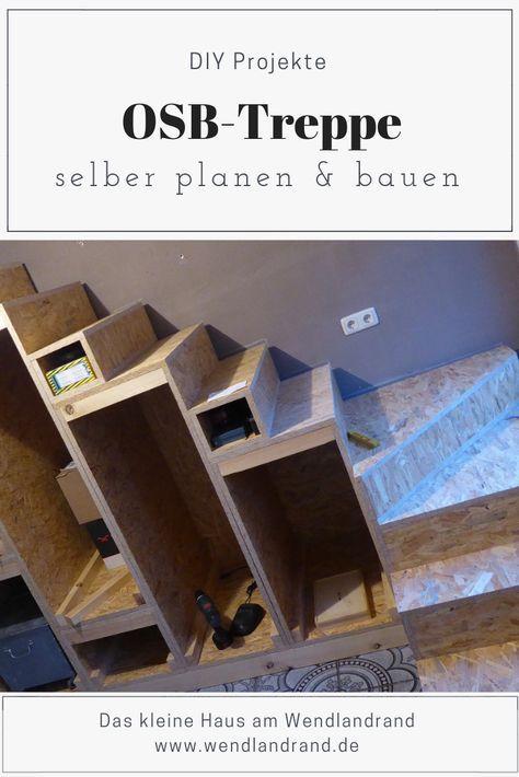 Projekt: OSB-Treppe selber bauen | Treppe selber bauen ...