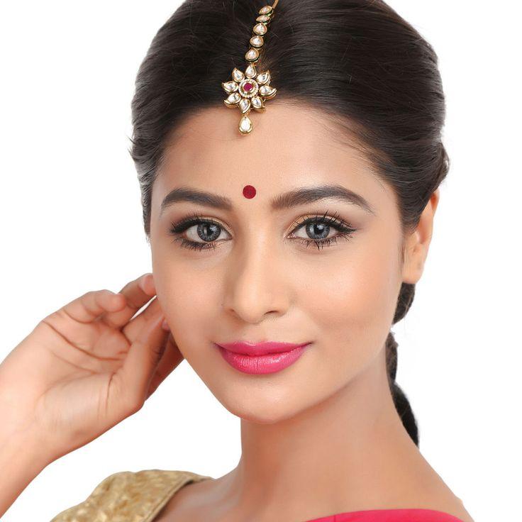 Kundan Tikka TATK15 #Kushals #Jewellery #FashionJewellery #IndianJewellery #WeddingAccessories #Maang Tikka #Kundan