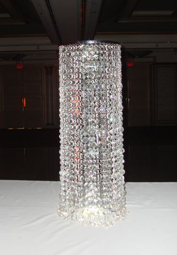 51 best Crystal Chandelier Centerpiece Rentals NY & NJ images on