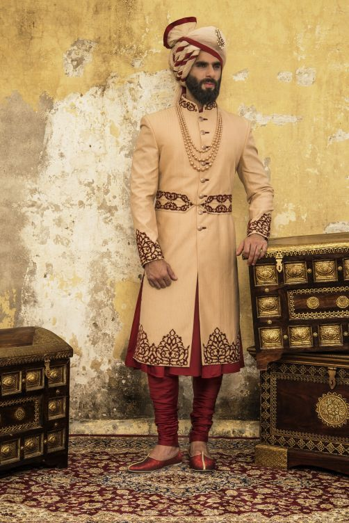 Buy latest men sherwani at best price in India. We offer good looking, stylish and trendy sherwani. http://puneetandnidhi.com/wedding-sherwani-concepts/