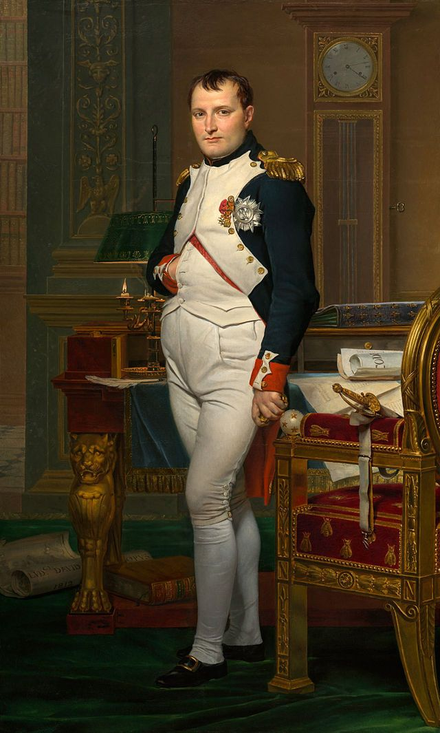 Napoléon Ier - Empereur des Français - (15/08/1769 Ajaccio - 05/05/1821 Sainte-Hélène) - Dynastie Bonaparte