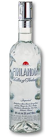 Finlandia Vodka | Finland ~ very smooth taste and priced ~ $13 in Seattle. My fave vodka.