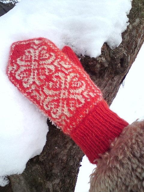 Norwegian mittens!
