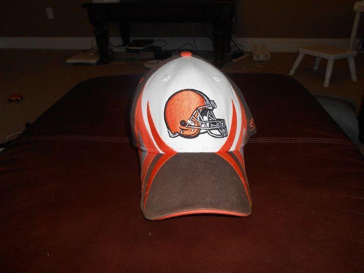 NFL BROWNS FOOTBALL HAT VINTAGE COLLECTABLE REEBOK #Reebok #ClevelandBrowns