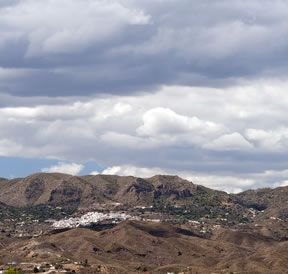 The white washed village of Bedar