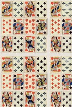 Andrew Martin Croupier Fabric - Sold by the Metre