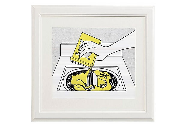 Roy Lichtenstein, Washing Machine on One Kings Lane $189