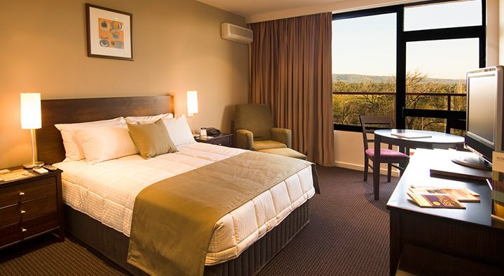 A Superior Parkview Room at Rydges Adelaide.