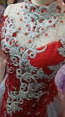 KP 1010 Kebaya Pengantin Modern Merah Kombinasi Gold • RUMAH KEBAYA ANANTHA • Indonetwork.co.id