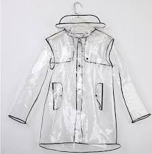Resultado de imagen para transparent raincoat men