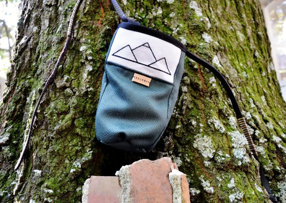 Hey, I found this really awesome Etsy listing at https://www.etsy.com/listing/209251584/climbing-chalk-bag
