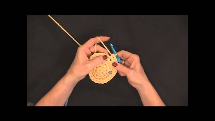 019 Learn How to Crochet:  Single Crochet Circle - Right Handed