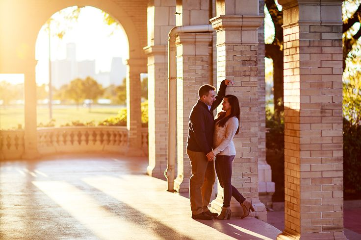 Belle Isle engagement photo More