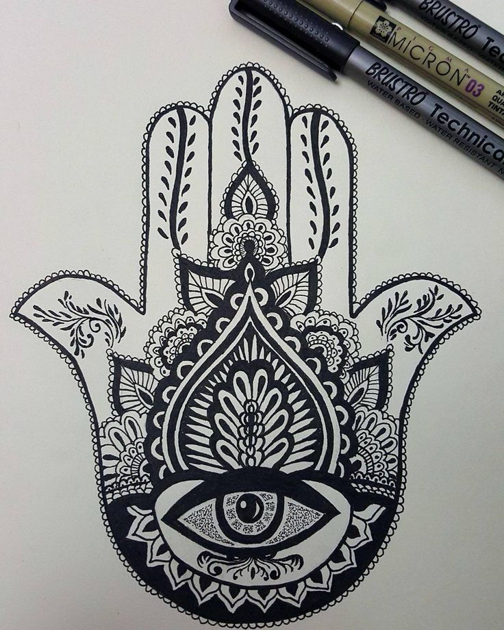 Best hamsa tattoo design ideas on pinterest
