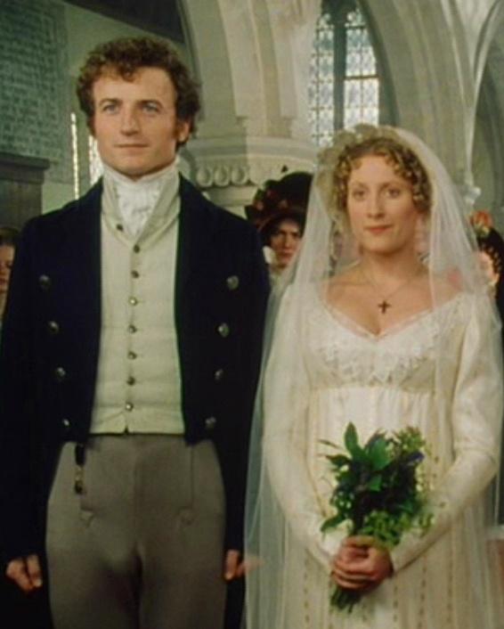 Crispin Bonham-Carter (Charles Bingley) & Susannah Harker (Jane Bennet) - Pride and Prejudice (TV Mini-Series, BBC, 1995) #janeausten