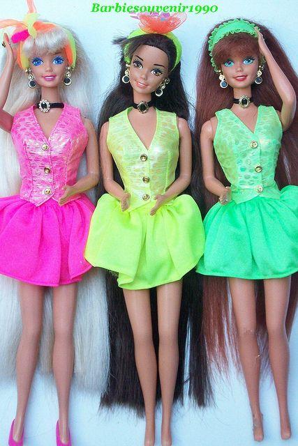 Cut and Style Barbie, Teresa, Midge