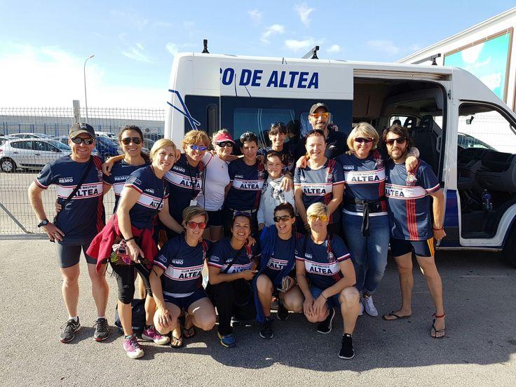 Equipo de Remo de Altea, Alicante. Campeonato de España de Remo!!! Campeonas!!!