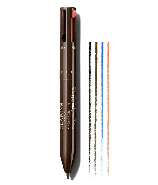Stylo 4 couleurs make up - Clarins - Blog beauté Les Mousquetettes