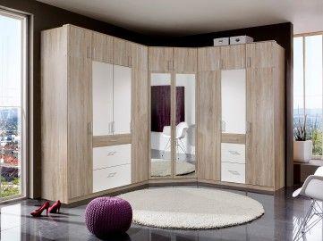 Ideal Wimex Eckschrank mit Spiegel Click