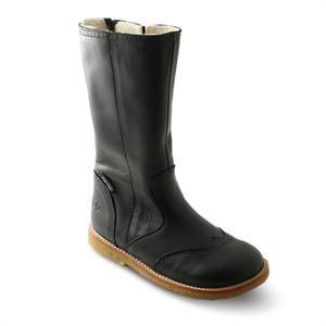 Lange flotte sorte støvler Arauto RAP med uld for og tex membran.