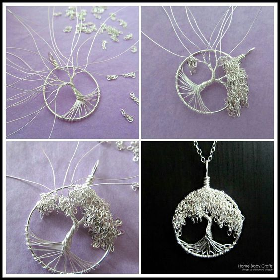 Wie macht man aus Perlen einen Baum? 13