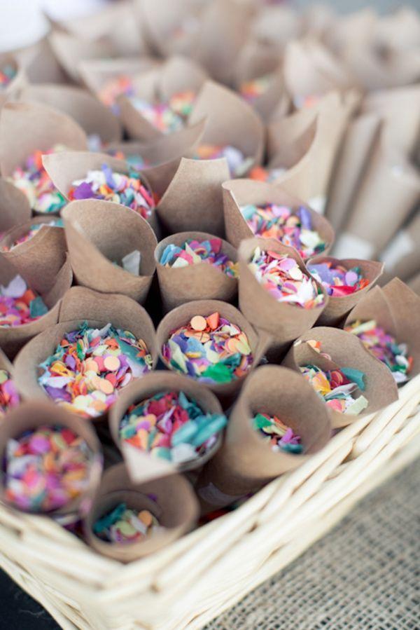 colorful confetti | Colorful Wedding Inspiration http://theproposalwedding.blogspot.it/ #wedding #inspiration #colors #summer #matrimonio #ispirazione #estate #colori