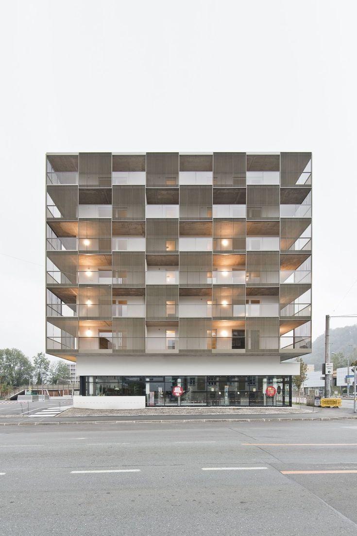 Wohn/Geschäftshaus Tetris / Architekten Berger.Hofmann
