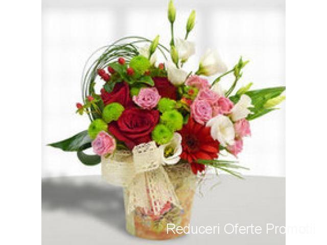 Fa-i un cadou.Flori de Sf. Gheorghe   Reduceri Oferte si Promotii in Romania   Livrare Flori si Cadouri